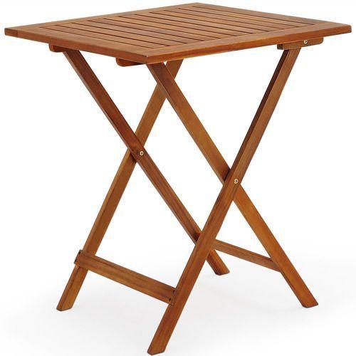 Meble Ogrodowe Stół 2 Krzesła Drewniane Składane Porównaj
