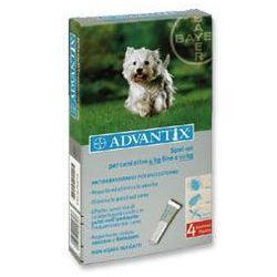 Advantix - dla psów 4-10kg (pipeta 1ml) - 4-10kg