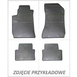 Dywaniki gumowe czarne z kompletem stoperów - Dacia Sandero (I) 2007-2012