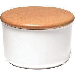 Ceramiczny pojemnik kuchenny 0,5L Emile Henry biały