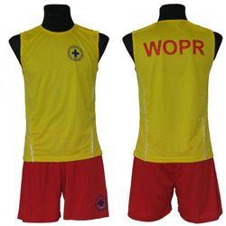 Koszulka bezrękawnik WOPR Cool Dry Rambo żółta, rozmiar S