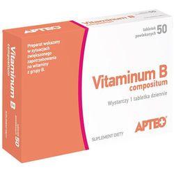 Vitaminum B compositum APTEO tabl.powl. - 50 tabl. (2 blist.po 25szt.)