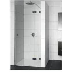 RIHO ARTIC A104 Drzwi prysznicowe 120x200 LEWE, szkło transparentne EasyClean GA0070301