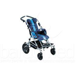 Wózek inwalidzki dziecięcy spacerowy Patron TOM X-Country standard szer. 34 (skrętne koła)