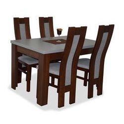 Zestaw TORRENS I (4 krzesła/stół 80x120/160)