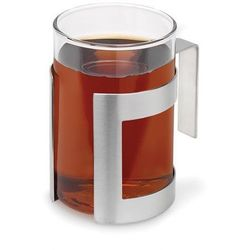 Blomus DARJEE Szklanka z Koszyczkiem do Herbaty