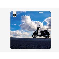 Flex Book Fantastic - Huawei ShotX - pokrowiec na telefon - skuter