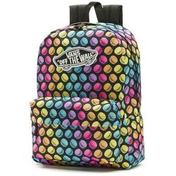 Plecak Vans Realm Backpack black / multicolor (VN000NZ0IFA) - black / multicolor