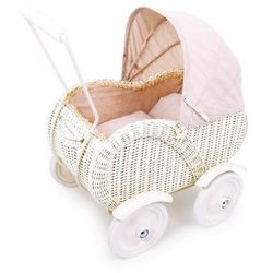 Wózek wiklinowy dla lalek Anna