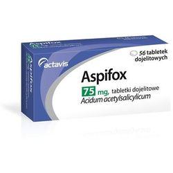 ASPIFOX 75 mg 56 tabletek dojelitowych