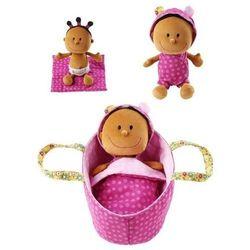 Baby Zoe - Lalka szmacianka w nosidełku