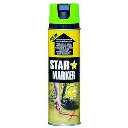 Farba w aerozolu AMPERE Star Marker - zielony FLUO