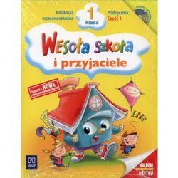 WESOŁA SZKOŁA I PRZYJACIELE 1 SP PODRĘCZNIK CZĘŚĆ 1 + PŁYTA CD (opr. miękka)
