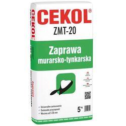Zaprawa murarsko-tynkarska ZMT 20 Cekol, 5kg