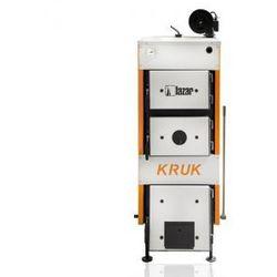 Stalowy kocioł górnego spalania KRUK S z ręcznym załadunkiem na drewno i węgiel 18kW