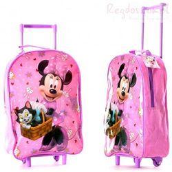 Plecak Myszka Mini walizka na kółkach Minnie Mouse