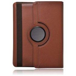wel.com Etui obrotowe 360 stopni Samsung N8000 / N8010 brązowe