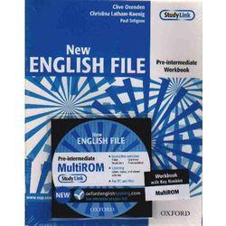 New English File pre-intermediate Workbook with key + Cd (opr. broszurowa)