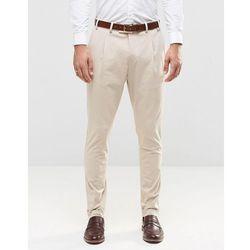 Jack & Jones Premium Suit Trousers - Stone