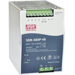 Zasilacz na szynę DIN Mean Well SDR-480P-24, 20 A, 480 W, 1 x