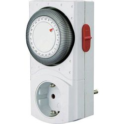 Wyłącznik czasowy GAO EMT2400, 3680 W 16 A, 230 V/50 Hz, Program dniowy, IP20, (SxWxG) 75 x 135 x 45 mm
