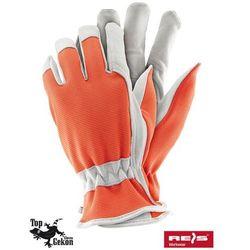 Rękawice robocze wzmacniane skórą licową RDRIVER rozmiar 10