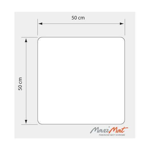 Podkładka przezroczysta - 50x50 cm - kwadratowa