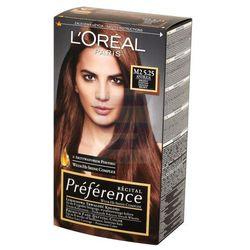 Loreal Paris Recital Preference Farba do włosów Antigua Mroźny Kasztan nr M2 5.25