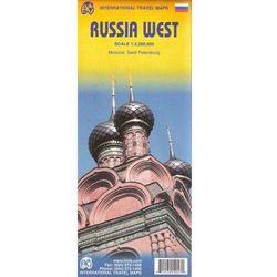 Rosja. Część zachodnia mapa 1:3 200 000 (opr. miękka)