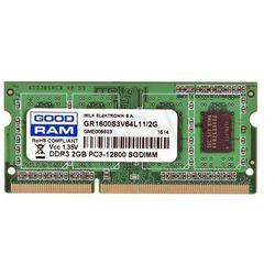 GOODRAM SO-DIMM DDR3 2048MB PC1600 CL11 1,35V- PRODUKT W MAGAZYNIE! EKSPRESOWA WYSYŁKA!