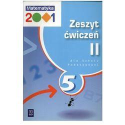 Matematyka, klasa 5, Matematyka 2001, ćwiczenia, część 2, WSiP