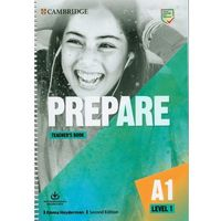 Prepare Level 1 Teacher's Book with Downloadable Resource Pack (opr. miękka)