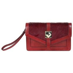 KOPERTÓWKA GUESS COLLECTION DE LUXE CLUTCH RED