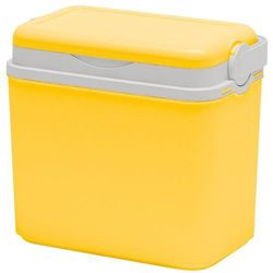 Lodówka turystyczna 10 l, żółty