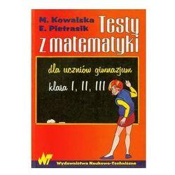 Testy z matematyki dla uczniów gimnazjum