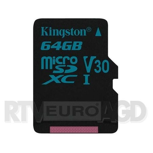 Kingston Canvas Go microSDXC 64GB UHS-I
