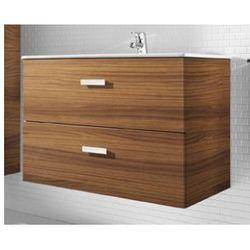 ROCA Victoria Basic Unik szafka z szufladami orzech + umywalka 80 A855852222