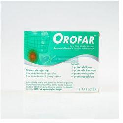 Orofar, tabletki do ssania, 16 szt