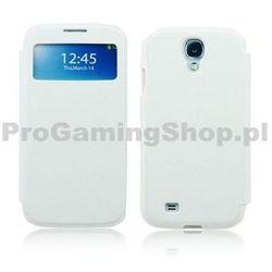 S-View Case do Samsung Galaxy S4 Mini-i9190 oraz i9195, Biały