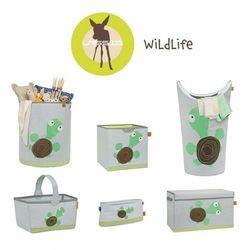 Lassig Skrzynia zamykana na zabawki Wildlife Żółw