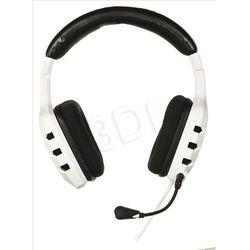 Słuchawki z mikrofonem OZONE RAGE ST - białe
