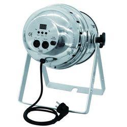 Eurolite LED PAR-64 RGBA Floor spot srebrny, 177x 10 mm LED