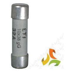 Bezpiecznik, wkładka topikowa cylindryczna CH10x38 gG 6A 002620005 ETI