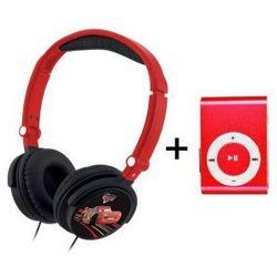 Słuchawki Nauszne Dla Dzieci Disney Cars Auta + Odtwarzacz MP3
