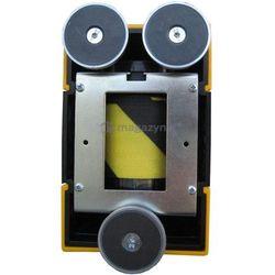 Taśma ostrzegawcza rozwijana w kasecie mocowanej na magnes. MAXI. Zapięcie magnetyczne (Długość 7,7m)