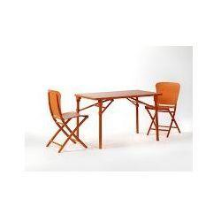 Krzesło składane Zac orange