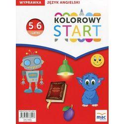 Kolorowy Start Język angielski Wyprawka 5 i 6-latki