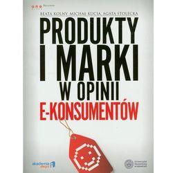 Produkty i marki w opinii e-konsumentów (opr. broszurowa)