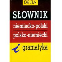 Słownik niemiecko-polski, polsko-niemiecki i gramatyka (opr. twarda)