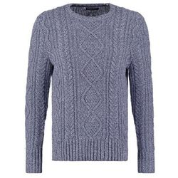 Banana Republic CABLE Sweter pitch blue